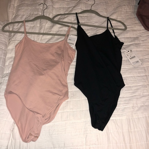 af4aa12e0b 2 Brand New Zara tank body suits!